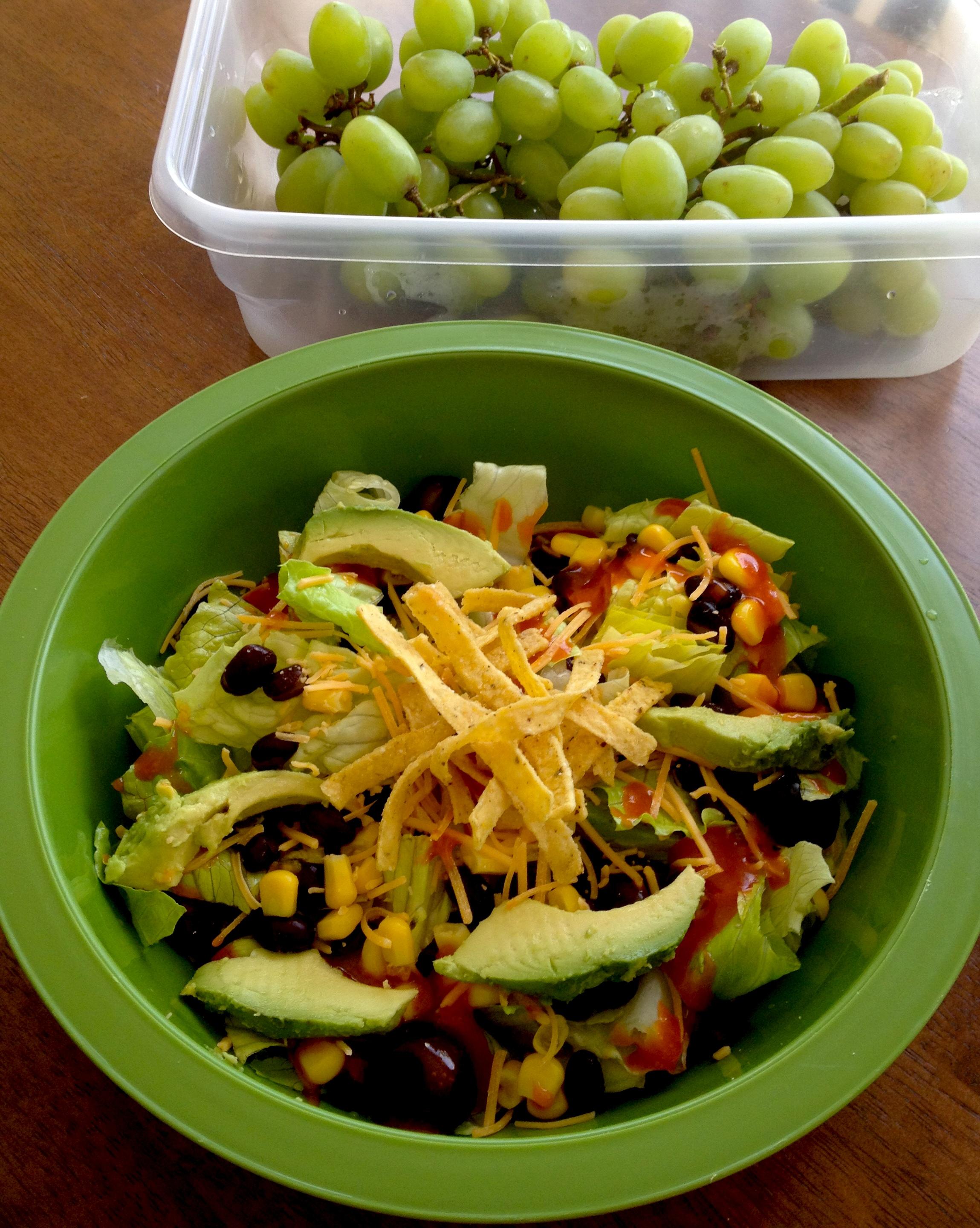 Cape Cod Chopped Salad Healthy Eating Made Simple Homemade Taco Salad