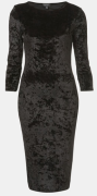 Crushed Velvet Midi Dress at Nordstrom