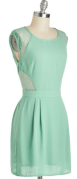 Mint Dress $52.99 at ModCloth