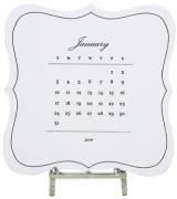 Audrey Desk Calendar