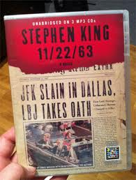 Stephen King's gripping novel, 11/22/63.